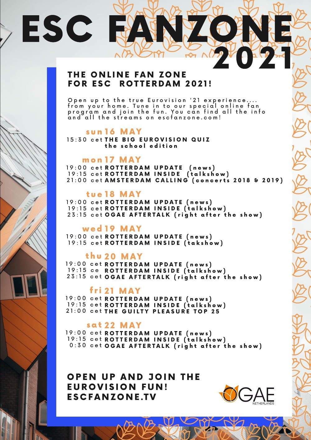 ESC Fanzone 2021 OGAE Netherlands